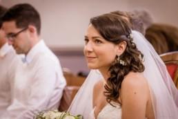 coiffure mariage cheveux mi long bohème